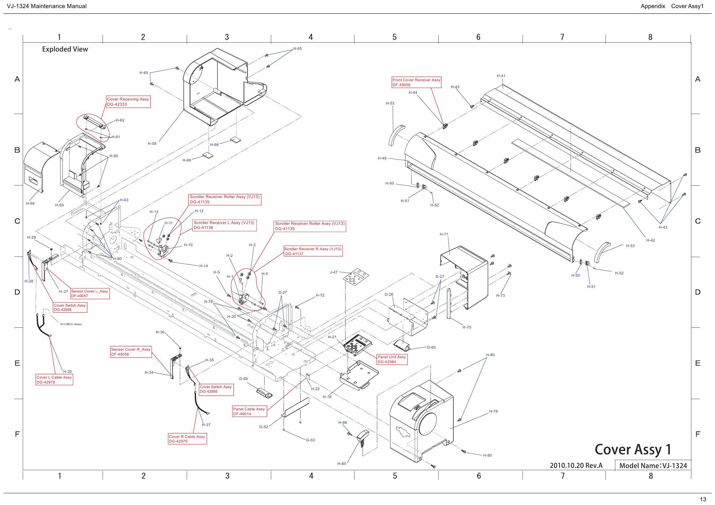 MUTOH ValueJet VJ 1324    Parts    Manual